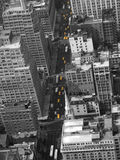New York Yellow Taxi Cabs Stock Photo