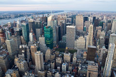 New- Yorkansicht von Manhattan Lizenzfreie Stockfotos