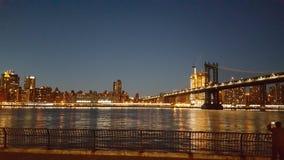 New- Yorkbrücke, Gebäude Lizenzfreie Stockfotos