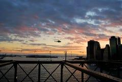 New- YorkBrooklyn-Brücke Stockfotografie