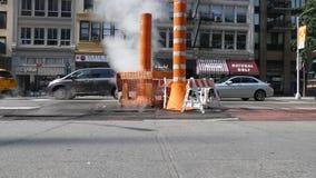 New- Yorkdampfsystem stock video