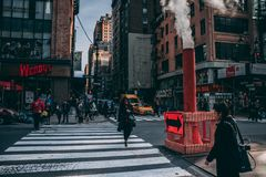 New Yorke street stock photos