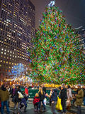 New Yorker Christmas Royalty Free Stock Photography