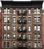 New- Yorkfassade Stockbild