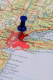 New- YorkFinanzzentrum Lizenzfreies Stockbild