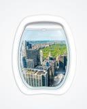 New- Yorkflug Lizenzfreies Stockbild