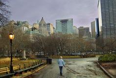 New Yorkgehen Lizenzfreie Stockfotografie