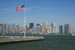 New- Yorkhafen lizenzfreie stockfotos