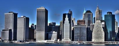 New- Yorkhimmelzeile Lizenzfreie Stockfotos
