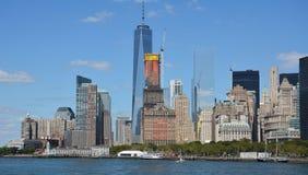 New- Yorkhimmelzeile Stockbild