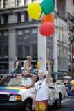 New- Yorkhomosexueller Stolz März 2010 Stockbild