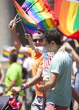 New- Yorkhomosexuelles Pride March Lizenzfreies Stockfoto