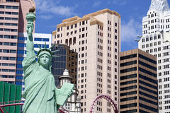 New- Yorkkasino und -hotel in Las Vegas, Nevada Lizenzfreie Stockbilder