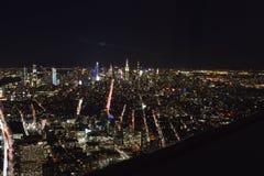 New- Yorklandschaft von der Spitze lizenzfreie stockfotos