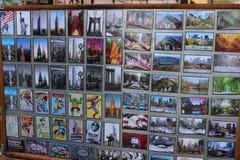 New- Yorkmagneten für Verkauf Stockbild