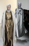 New- Yorkmode-Woche FW 2017 - Sammlung Anniesa Hasibuan Lizenzfreie Stockfotos