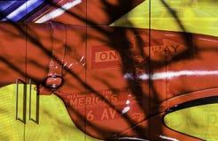 New- Yorkmontage lizenzfreies stockfoto