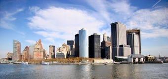 New- Yorkpanorama Lizenzfreies Stockfoto