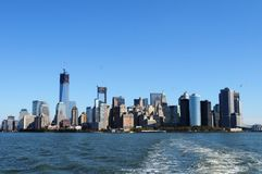 New Yorks beauty. A beautiful landscape photo from the sea Stock Photo