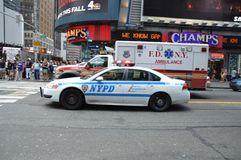 New yorks finest Royalty Free Stock Image