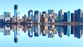 New- YorkSkyline Lizenzfreies Stockfoto