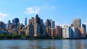 New- YorkSkyline Lizenzfreie Stockfotos