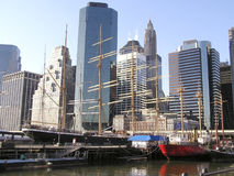 New- YorkSkyline 6 Stockbild