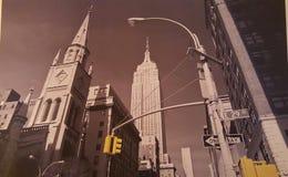 New- YorkSkyline Lizenzfreies Stockfoto