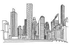 New- YorkSkyline vektor abbildung