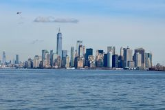 New- Yorkskyline Manhattan NYC stockbilder