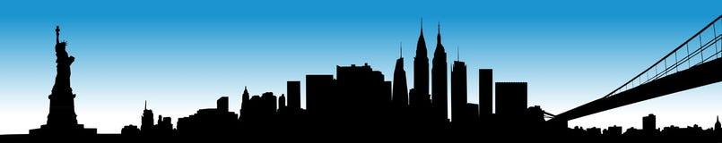 New- YorkStadtbild stock abbildung