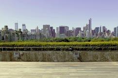 New- Yorkstadtbild von getroffen Lizenzfreie Stockbilder