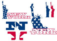 New- Yorkstatuefreiheit Lizenzfreie Stockfotos