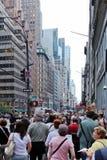 New- Yorkstraße Stockbild