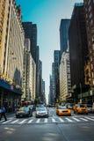 New- Yorkstraße lizenzfreie stockfotos