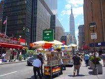 New- Yorkstraßen stockbild