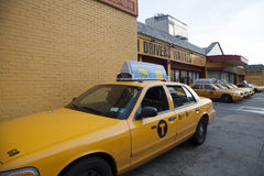 New- Yorktaxis Lizenzfreies Stockbild