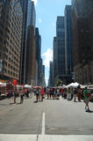 New- YorkTelefonverkehr Lizenzfreies Stockbild