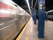 New- Yorkuntergrundbahn Lizenzfreies Stockfoto