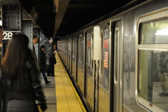New- Yorkuntergrundbahn Lizenzfreies Stockbild
