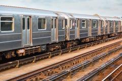 New- Yorkuntergrundbahn stockbilder