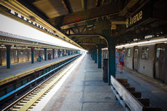 New- Yorkuntergrundbahn stockfotos