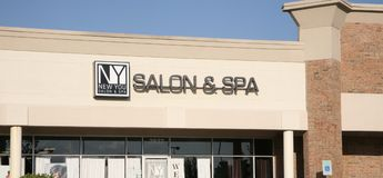 New You Salon and Spa stock images