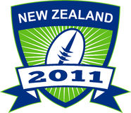 New Zealand 2011 rugby ball Royalty Free Stock Photography