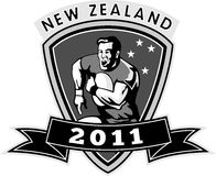 New zealand 2011 rugby player Stock Photography