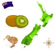 New_Zealand Стоковое Изображение RF