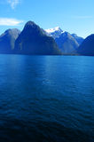 New Zealand. Milford sound in south island New Zealand Royalty Free Stock Photo