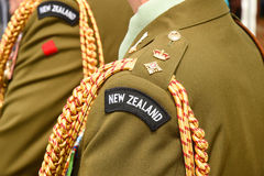 New Zealand army Lieutenant Colonel rank insignia Royalty Free Stock Photography