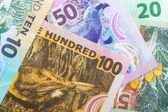 New Zealand banknotes Stock Photos