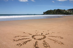 New Zealand beach Stock Photos